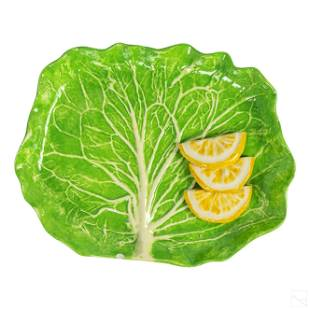 Dodie Thayer Palm Beach Lettuce Ware Lemon Plate