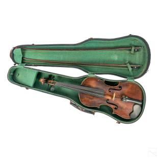 Nicolaus Amatus Antique Fecit in Cremona Violin