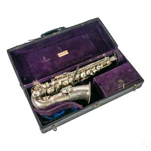Selmer Silver Plated Saxophone Musical Instrument