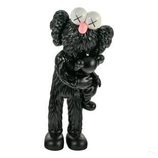 KAWS b1974 TAKE Black Vinyl Figurine Toy Sculpture