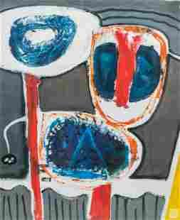 Hendrika A. van Diest (b.1968) Abstract Painting