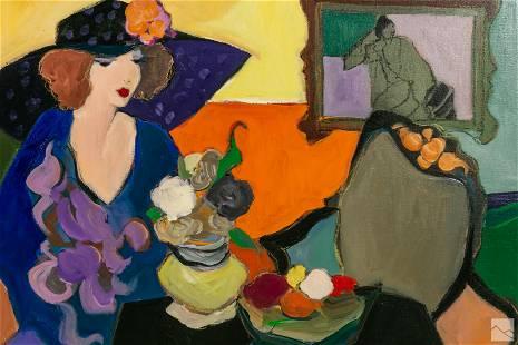 Isaac Tarkay (1935-2012) Modern Abstract Painting
