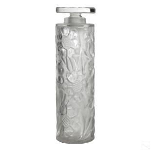 Rene Lalique French Les Cinq Fleurs Perfume Bottle