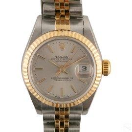 18K Gold & Steel Ladies Rolex Datejust 79173 Watch