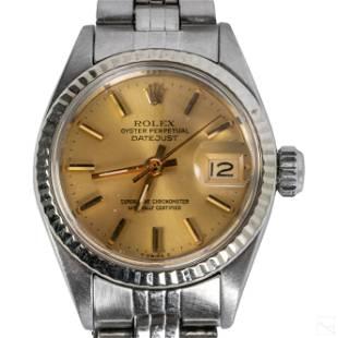 Rolex Ladies Oyster Perpetual Date Watch Ref# 6917