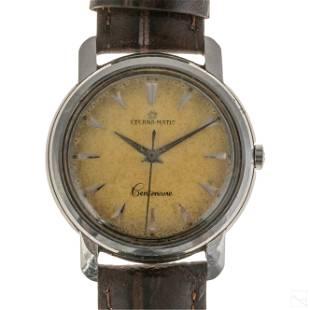 Eterna Matic Centenaire Tropical Swiss Wrist Watch