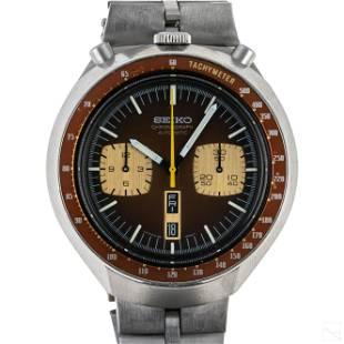 Seiko 5 Automatic Bullhead Speed Timer Wrist Watch