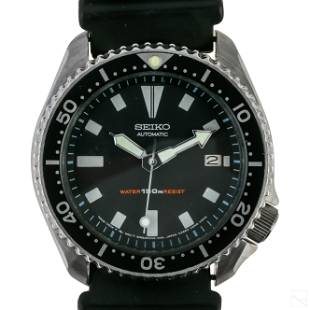 Seiko Automatic Diver 17J # 7002-7009 Wrist Watch