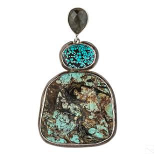 Elligators Sterling Silver Butterfly Pendant Pin