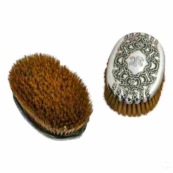 Tiffany Co. Sterling Silver Antique Vanity Brushes