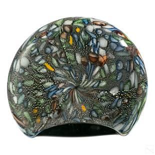Murano Italian Modern Studio Art Glass Centerpiece