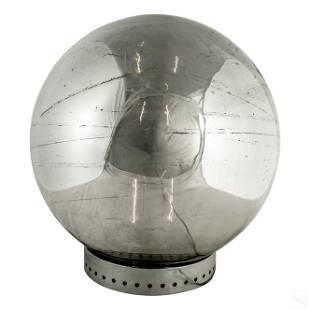 Robert Sonneman Mirrored Orb Glass Ball Table Lamp