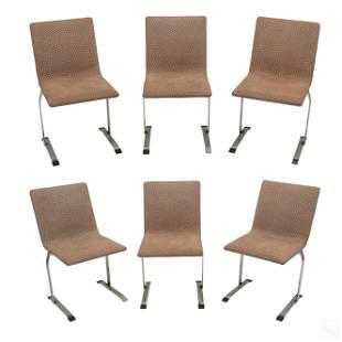 Giorgio Saporiti Modern Italian Designer Chair SET