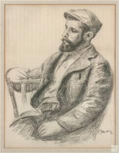 Pierre Auguste Renoir 1841-1919 Signed Lithograph