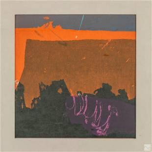 Daga Ramsey 1909-1997 Modern LE Abstract Serigraph