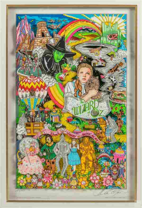 Charles Fazzino (b.1955) Wizard of Oz 3-D Pop Art