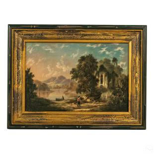 W. T. Russell Smith (1812-1896) Landscape Painting