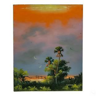 Tracy Newton b.1975 Florida Highwaymen 2G Painting