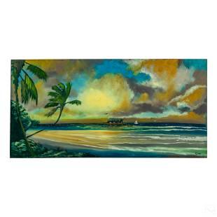 Rodney Demps 1953-2020 Florida Highwaymen Painting