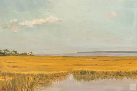 Nicky Gioia Mitchell (1932-2020) Wetlands Painting