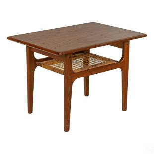 Trioh Mobler Danish Modern Teak Wooden Side Table