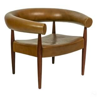 Nanna Ditzel Style Design Danish Modern Ring Chair