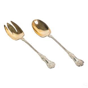 Tiffany & Co. English King Fork & Spoon Salad Set
