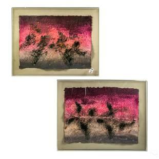 Greg Copeland (b.1938) Modern Shadowbox Paintings