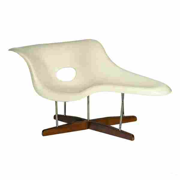 La Chaise Lounge Designed by Charles & Ray Eames