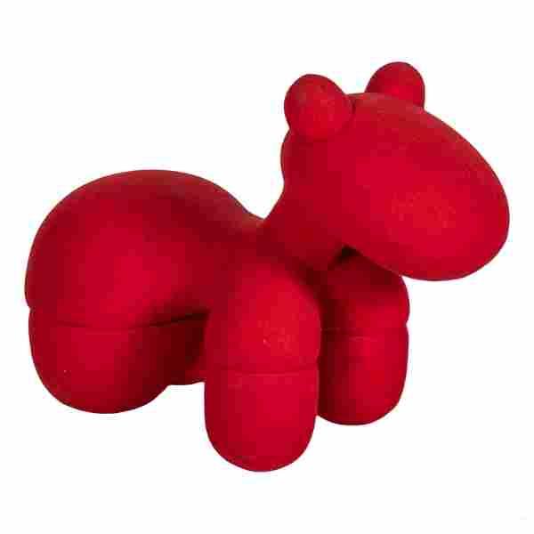 Eero Aarnio (b.1932) Red Pony Stool Art Sculpture