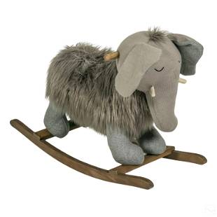 Restoration Hardware Wooly Mammoth Elephant Rocker
