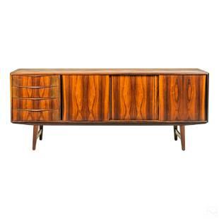 Modern 20C Danish Wood Sideboard Credenza Cabinet
