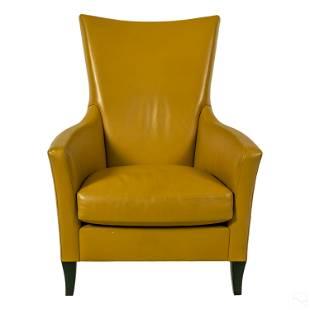 John Hutton Designer Holly Hunt Leather Armchair