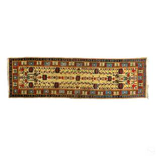 Turkish Hand Knotted Wool Area Rug Carpet Runner