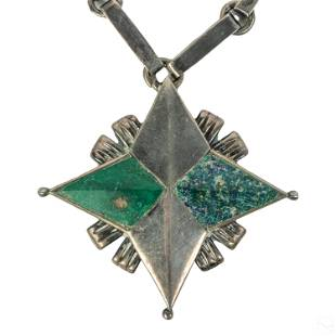 William Spratling Mexican Sterling Silver Necklace
