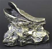 Antique Victorian Silver Plate Oyster Spoon Warmer