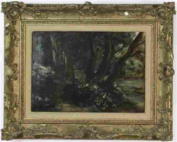 Circle of John Constable THE DELL Original Oil Painting