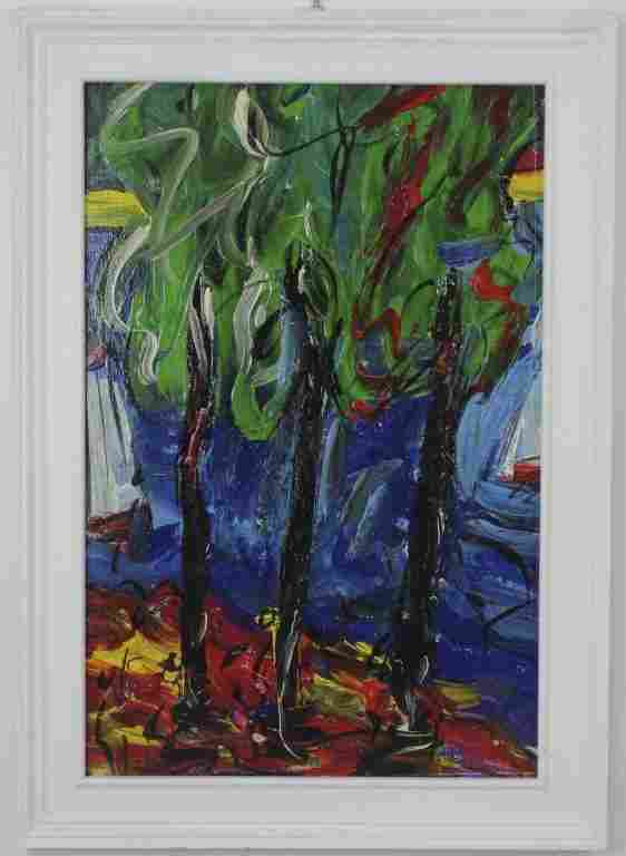 Peter Keil (1942-) Germany Neo Expressionist Painting