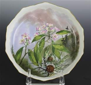 Rutherford B Hayes Presidential China Soup Bowl