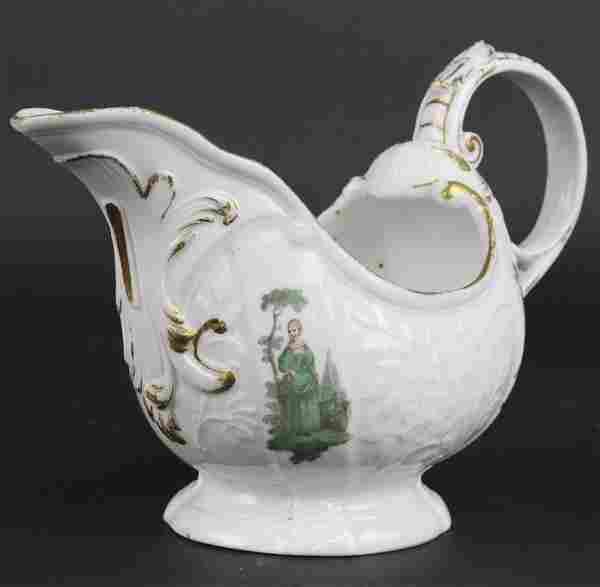 18th Century German Meissen Porcelain Figural Creamer