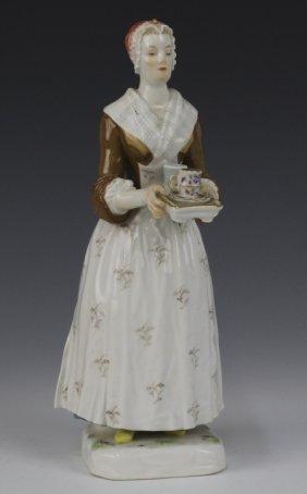 Meissen La Bella Chocolatier Porcelain Figurine