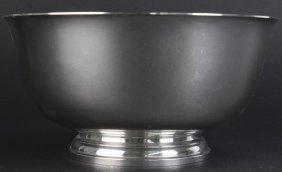 Tiffany & Co. Sterling Silver Trophy Bowl