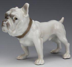 Bing Grondahl Denmark Bulldog Porcelain Figurine