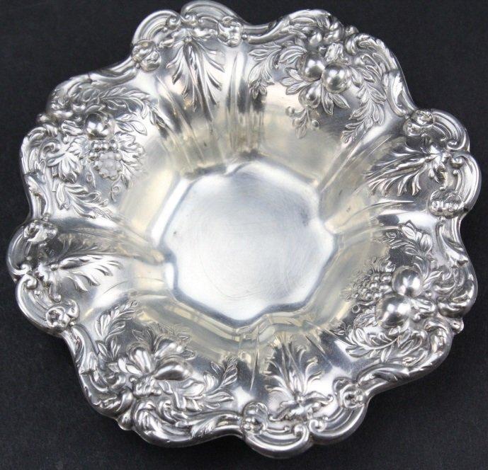 6 Reed & Barton Francis I Sterling Silver Nut Dish - 3