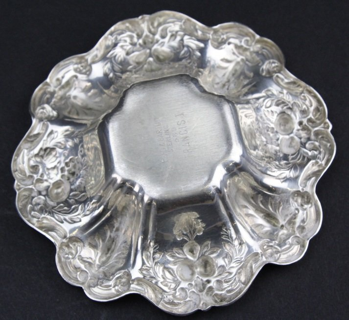 6 Reed & Barton Francis I Sterling Silver Nut Dish - 6