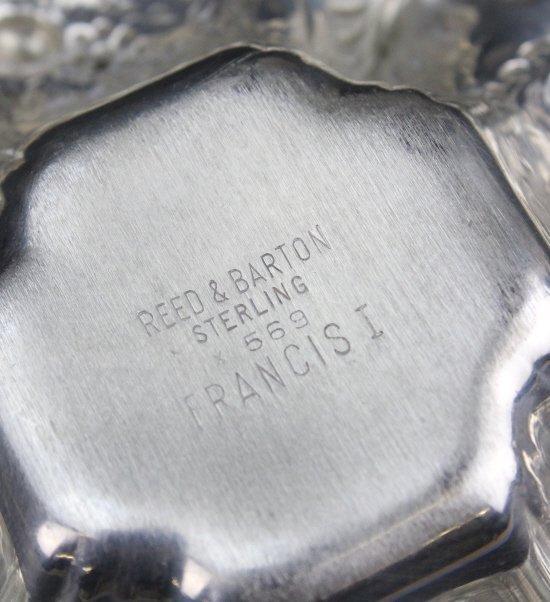 6 Reed & Barton Francis I Sterling Silver Nut Dish - 8