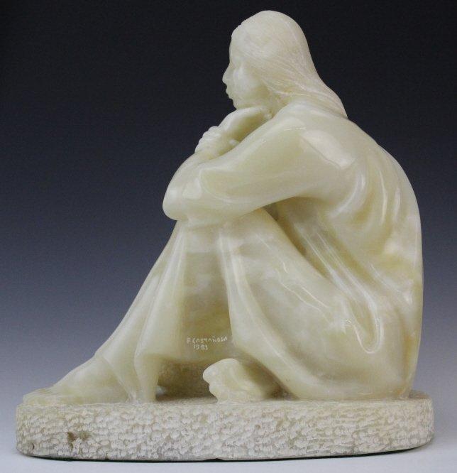 Felipe Castaneda b.1933 Mexico Marble Sculpture LISTED - 5
