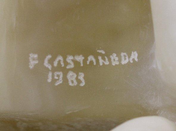 Felipe Castaneda b.1933 Mexico Marble Sculpture LISTED - 6