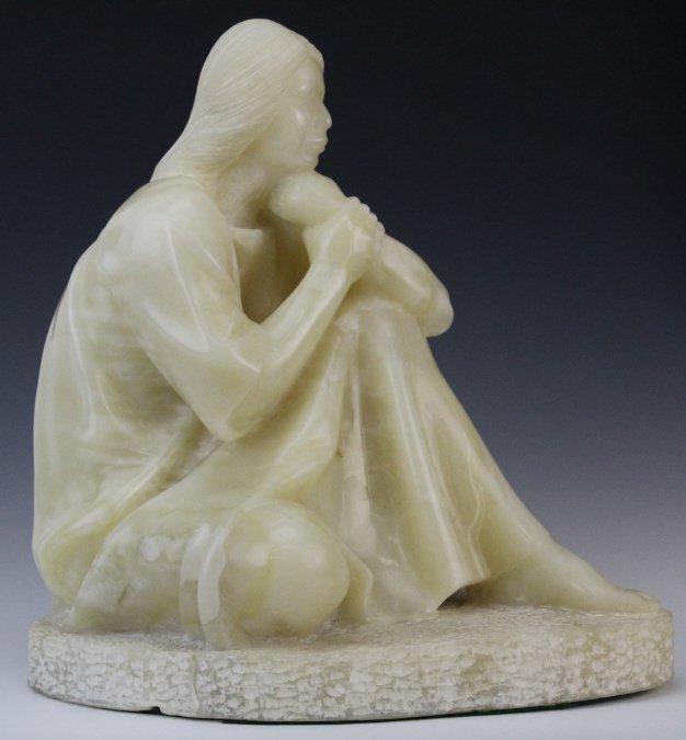 Felipe Castaneda b.1933 Mexico Marble Sculpture LISTED - 8