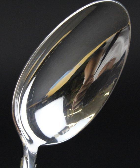 Christofle SET 4 Silver Renaissance Dinner Spoons - 5